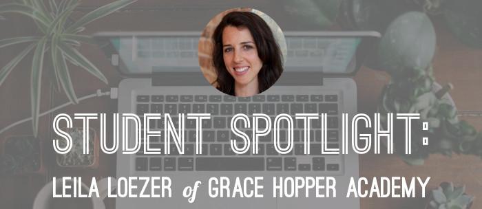 student-spotlight-leila-loezer-grace-hopper-academy