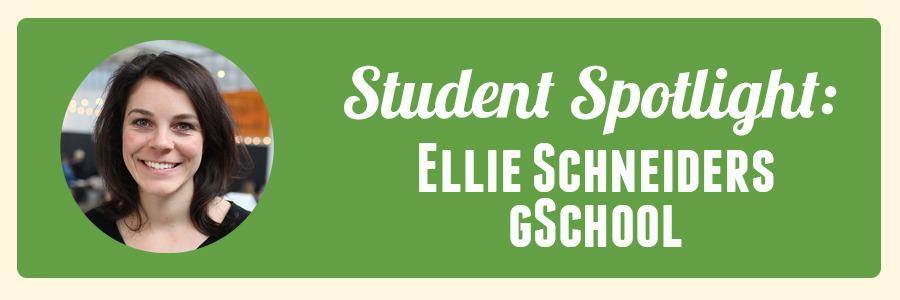 student-spotlight-ellie-gschool-week-2