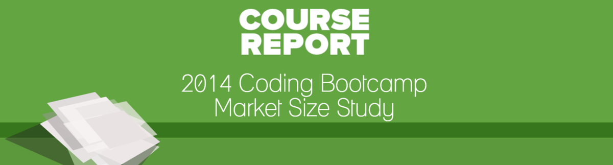 2014 coding bootcamp market size study