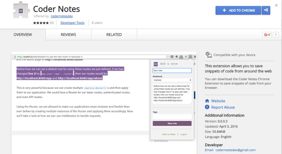 grace-hopper-program-student-project-coder-notes-notebook-app-screenshot