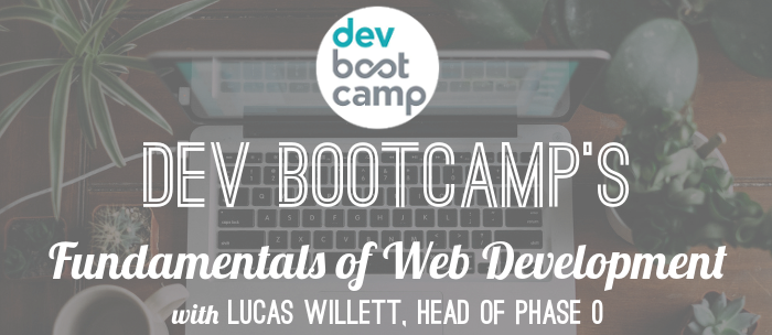 dev-bootcamp-fundamentals-of-web-development-curriculum