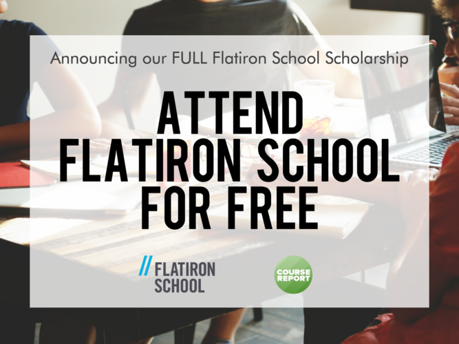 flatiron-school-course-report-scholarship-2016