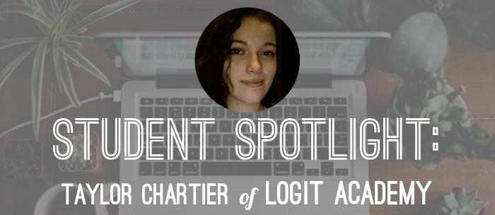 taylor-chartier-logit-academy-student-spotlight