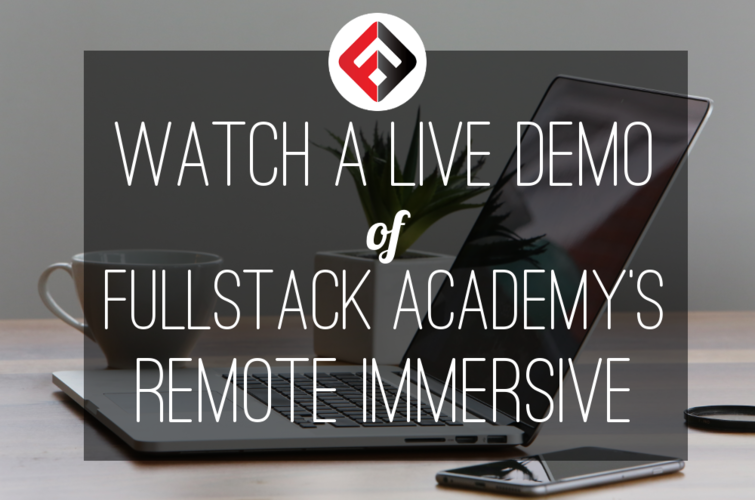 fullstack-academy-remote-immersive-program-live-demo