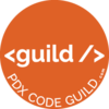 Guild logo orange