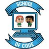 School of code logo