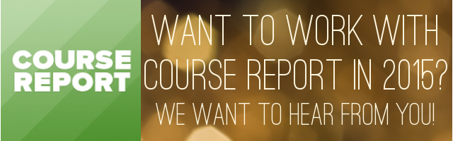 join-the-course-report-team