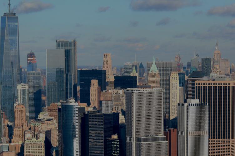 Nyc skyscrapers tech companies job market