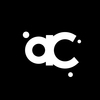 Acl logo white on black for circle crop
