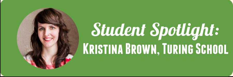 student-spotlight-turing-school-kristina