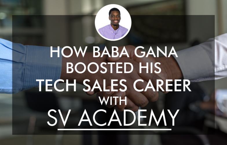 How Baba Gana Boosted His Tech Sales Career with SV Academy