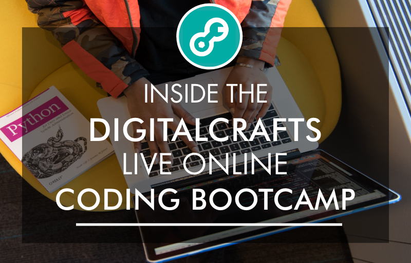 Inside the DigitalCrafts Live Online Coding Bootcamp