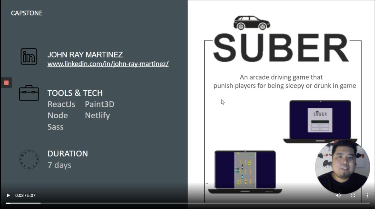 John Ray Martinez - Suber App