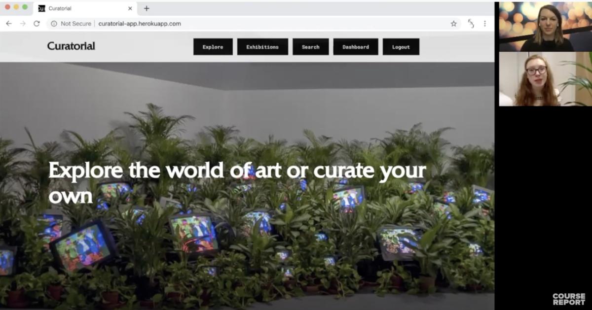 Erin Johnson - Curatorial App