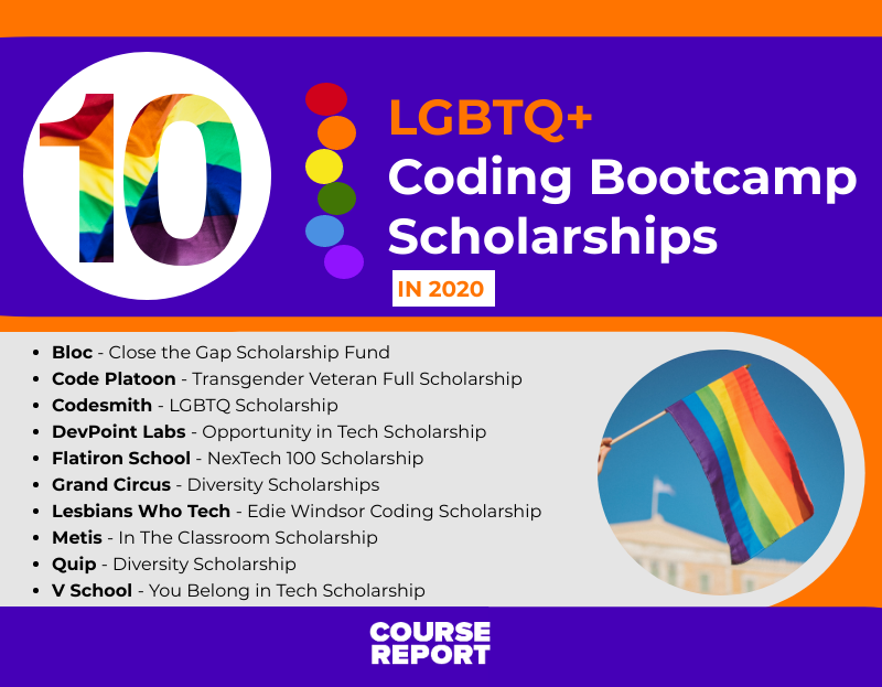 LGBTQ+ Coding Bootcamp Scholarships & Resources