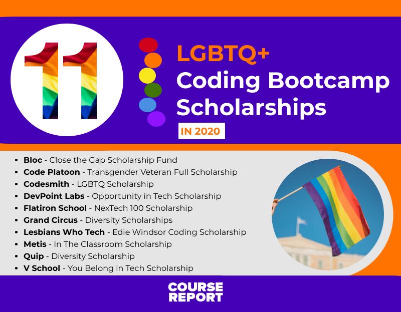 LGBTQ+ Coding Bootcamp Scholarships