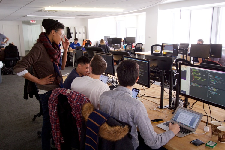students-learning-at-fullstack-academy