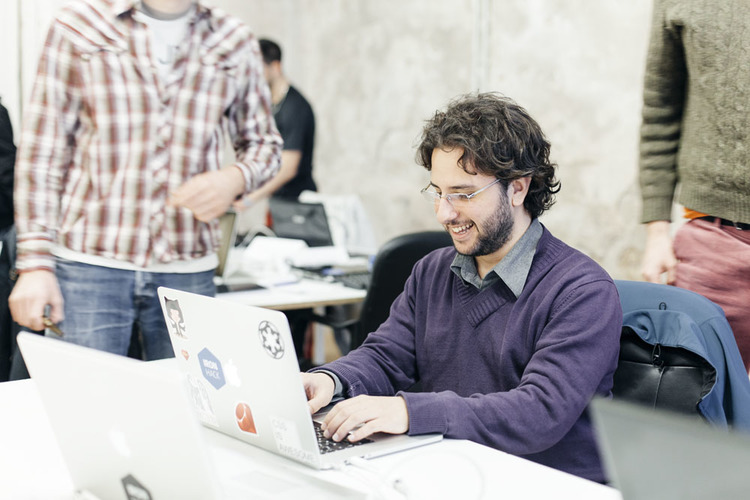 ironhack-student-typing