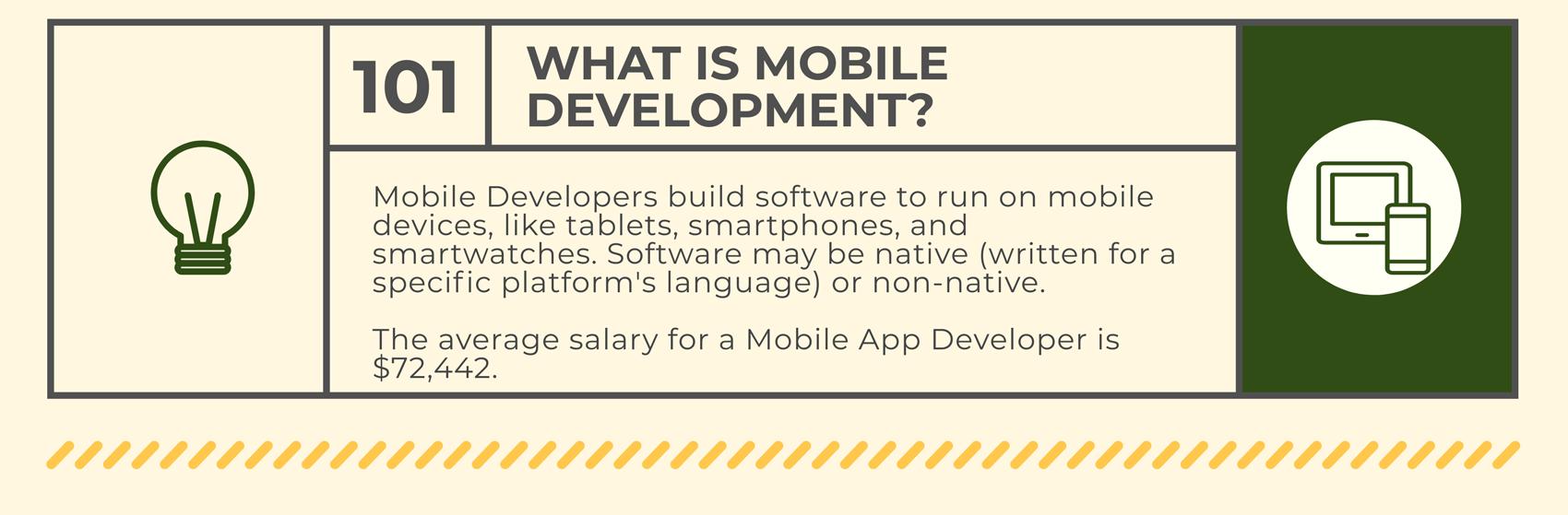 App development career track