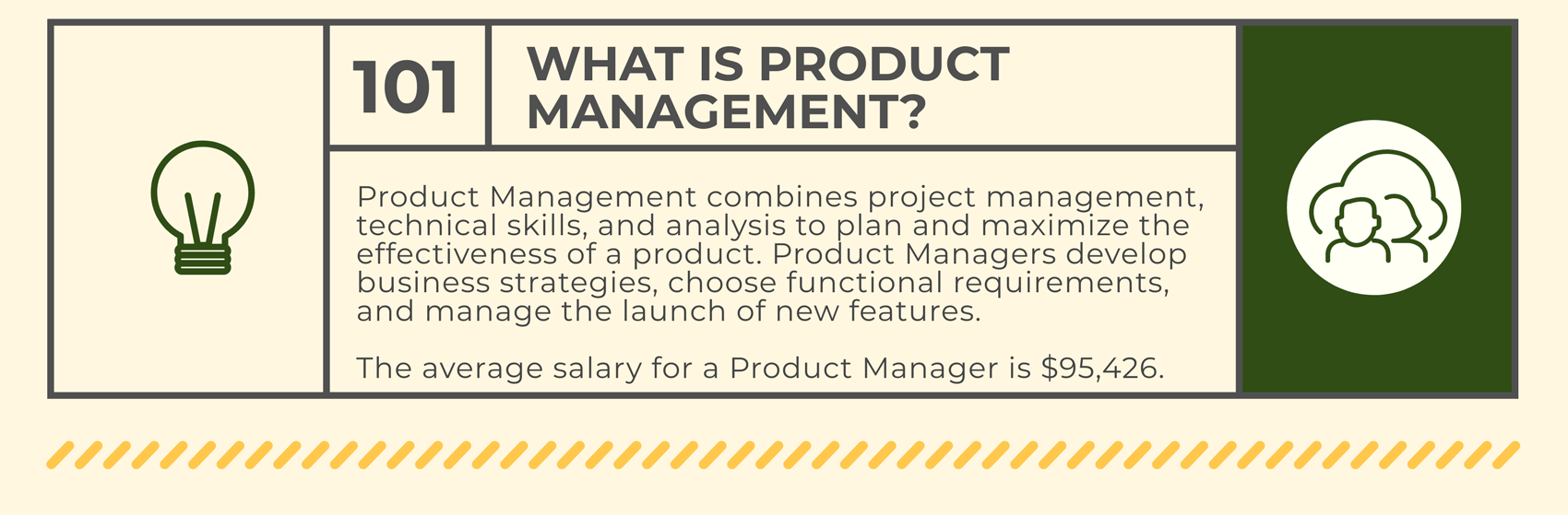 Product management career track